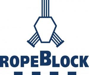 RopeBlock logo kleur blauw