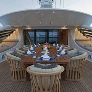Square - TRIOLIGHT - liniLED® project Super yacht Imagine