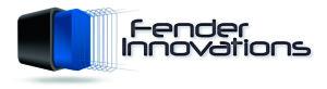 Fender Innovations LOGO blauw